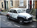 TQ3683 : Morris Minor, Driffield Road, Bow by Chris Whippet