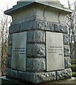 NS7157 : The Covenanters' Monument by Mary and Angus Hogg