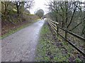 SK1573 : A quiet wet Monsal Trail in early January by Steve  Fareham