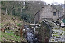 SE1407 : Dover Mill, Holmfirth by Richard Kay