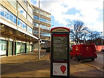 SP3378 : Telephone box and Royal Mail van, Eaton Road, Coventry by John Brightley