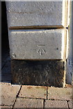 SK5319 : Benchmark on the Town Hall by Roger Templeman
