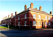 SO5139 : Corner of Daws Road and St Owen Street, Hereford by Jaggery