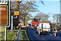 NT5346 : Speed camera near Lauder by Jim Barton