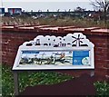 TF4593 : Saltfleet Haven information board by Steve  Fareham