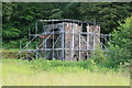 ST2699 : Glyn Pits - beam engine house by Chris Allen