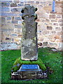 NY9166 : Warden Cross, Church of St Michael, Warden by Andrew Curtis