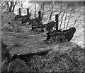 SE1845 : Sluice gates upstream of Otley Mills by Les