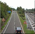SJ9495 : M67 Junction 3 by Gerald England