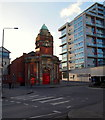SK5740 : Roundabout near Beck Street, Hockley, Nottingham by David Hallam-Jones