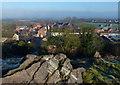 SK5814 : View across Mountsorrel from Castle Hill by Mat Fascione