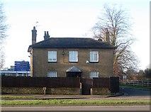 TQ0781 : Colham Green: Vine Cottage, Moorcroft by Nigel Cox