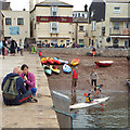SX9372 : Canoe lesson by the New Quay, Teignmouth by Robin Stott