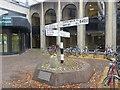 SP5106 : Cross roads Sign by Bill Nicholls