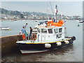SX9372 : Coming ashore from the pilot boat, Teignmouth harbour by Robin Stott