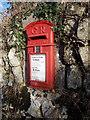 SW9552 : Hay: postbox № PL26 163 by Chris Downer