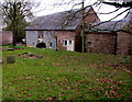 SO5030 : Court Farm Barn, Much Birch by Jaggery
