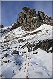 NN2605 : Hillside below the northern top of The Cobbler by Doug Lee