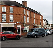 SK4003 : Corner of Main Street and Market Place in Market Bosworth by Jaggery