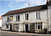 TF0920 : The Golden Lion in West Street, Bourne, Lincolnshire by Rex Needle
