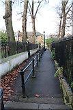 TQ2976 : Path to Wandsworth Road by John Salmon