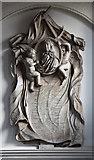 TQ2976 : St Paul, Clapham - Wall monument by John Salmon