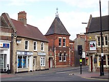 TF0920 : The Corn Exchange at Bourne, Lincolnshire by Rex Needle