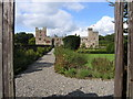 NY5662 : Naworth Castle in Cumbria by Andrew Tryon