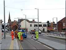 SK5236 : Chilwell Road tram stop by Alan Murray-Rust