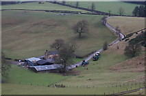 SK2370 : Handley Bottom Farm by Peter Barr