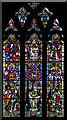 TQ5243 : Thomas à Becket window, St John's church, Penshurst by Julian P Guffogg