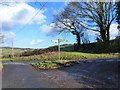 SO5004 : Road junction south of Trelleck by Ruth Sharville