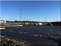 SJ8545 : Royal Stoke University Hospital: car park under construction by Jonathan Hutchins