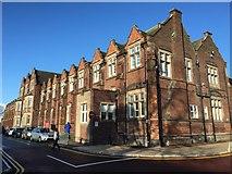 SJ8545 : Royal Stoke University Hospital: Parish Buildings by Jonathan Hutchins