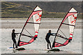 M2523 : Windsurfing, Rusheen Bay by Ian Capper