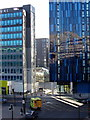 NZ2464 : Blue glass on Gallowgate by Andrew Curtis