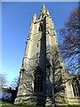 TF1444 : The spire St Andrew's Church Heckington by Richard Hoare