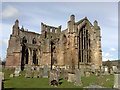 NT5434 : Melrose Abbey from the south-east by Jonathan Hutchins