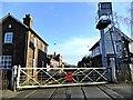 TF1443 : Heckington level crossing by Richard Hoare