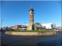 TF5663 : Skegness clock tower by Richard Hoare