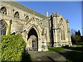 TF1444 : South entrance to St Andrew's Church, Heckington by Richard Hoare