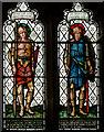 TQ5643 : Stained glass window, St Lawrence church, Bidborough by Julian P Guffogg