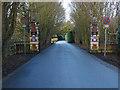 TQ0486 : Buckinghamshire Golf Club gates by Alan Hunt