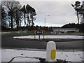 NT0268 : Entrance to Eliburn Park by M J Richardson