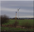 SD4260 : Wind turbine, Heysham Moss by Ian Taylor