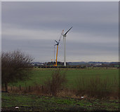 SD4260 : Wind turbine, Heysham Moss by Ian Taylor