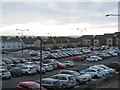 NT0368 : Car park at Livingston North Station by M J Richardson
