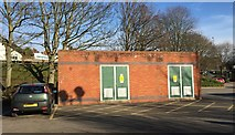 SJ8445 : Newcastle-under-Lyme: Goose Street electricity substation by Jonathan Hutchins