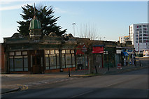 TQ1588 : Shops on Lowlands Road by Christopher Hilton