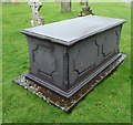 ST1722 : Bradford on Tone - Easton family chest tomb by Rob Farrow